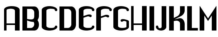 Drabe Font UPPERCASE