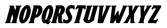 Draconis Bold Italic Font UPPERCASE