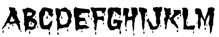 Dracula Font UPPERCASE