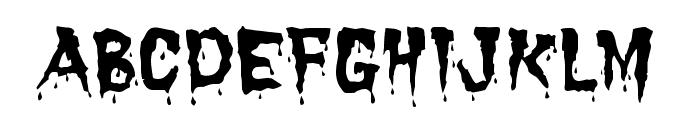 Dracula Font LOWERCASE
