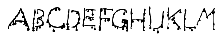 Draculas Font UPPERCASE
