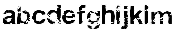 Draff Font LOWERCASE
