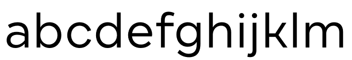DraftB-Regular Font LOWERCASE