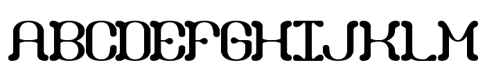 Draggle [BRK] Font UPPERCASE