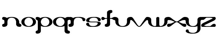 Draggle [over kerned] [BRK] Font LOWERCASE