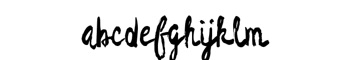 DragonNight-Regular Font LOWERCASE