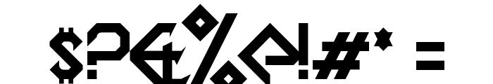 DragonSlapper Regular Font OTHER CHARS