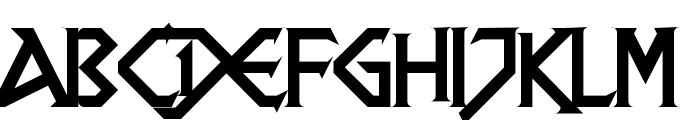 DragonSlapper Regular Font UPPERCASE