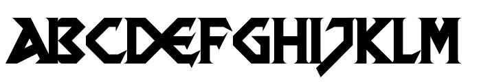 DragonSlapper Regular Font LOWERCASE