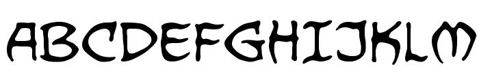 Dragonbones BB Font UPPERCASE