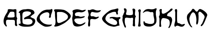 Dragonbones BB Font LOWERCASE