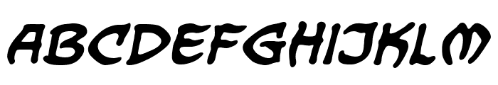 DragonbonesBB-Bold Font LOWERCASE