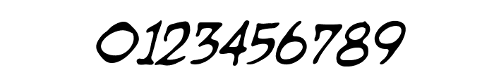 DragonbonesBB-Italic Font OTHER CHARS
