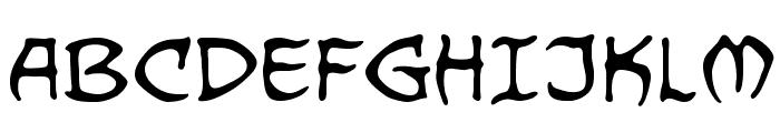 DragonbonesBB Font UPPERCASE