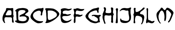 DragonbonesBB Font LOWERCASE