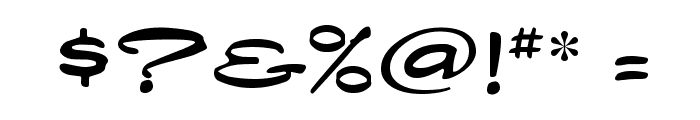 Dragonfly Font OTHER CHARS