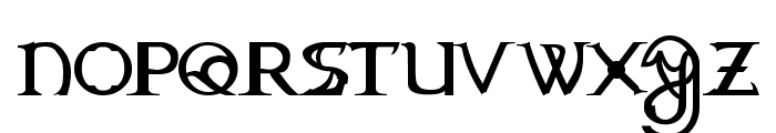 Dragonmaster Normal Font LOWERCASE