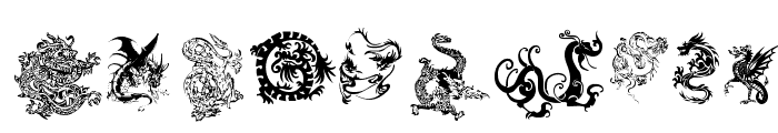 Dragons Tfb Font OTHER CHARS