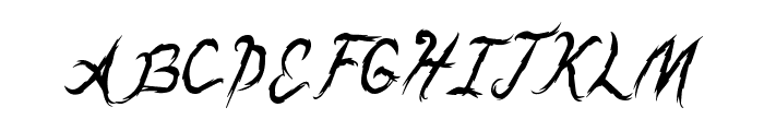 DragonsBreath Font UPPERCASE