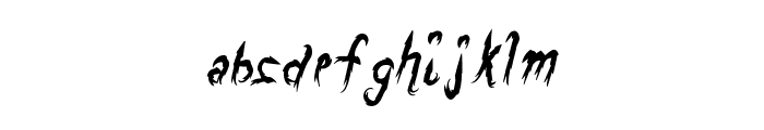 DragonsBreath Font LOWERCASE