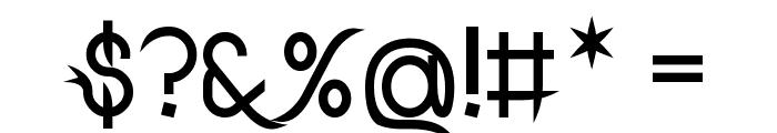 DrakoheartLeiendBold Font OTHER CHARS
