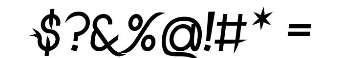 DrakoheartLeiendBoldItalic Font OTHER CHARS