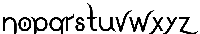 DrakoheartLeiendBold Font LOWERCASE