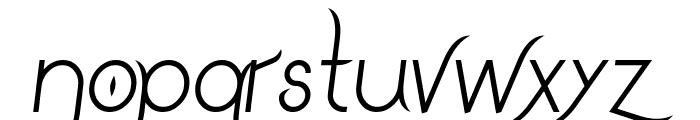 DrakoheartLeiendItalic Font LOWERCASE