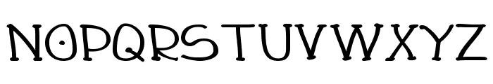 Draughtsman Bold Font UPPERCASE