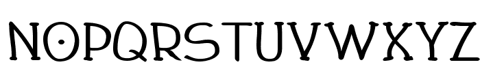Draughtsman Bold Font LOWERCASE