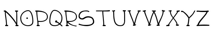 Draughtsman Font UPPERCASE