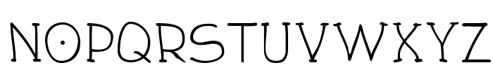 Draughtsman Font LOWERCASE