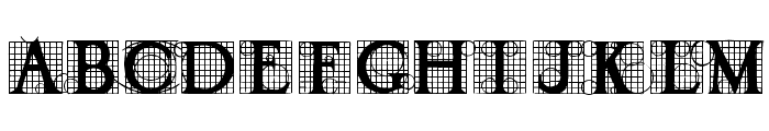 Draughtwork Demo Font UPPERCASE
