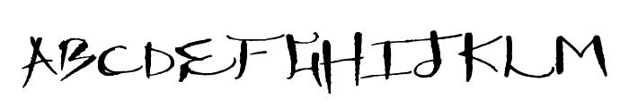 DrawingMachine Font LOWERCASE