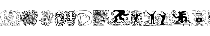DrawingTraces Font UPPERCASE