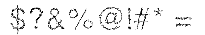 DrawveticaMini Font OTHER CHARS