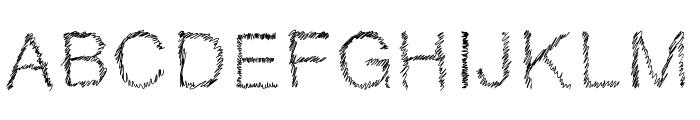 DrawveticaMini Font UPPERCASE