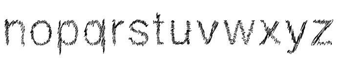 DrawveticaMini Font LOWERCASE