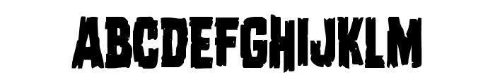 Dread Ringer Condensed Font UPPERCASE