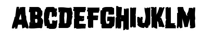 Dread Ringer Font UPPERCASE