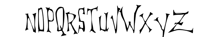 DreadLox Font UPPERCASE