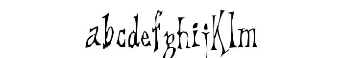 DreadLox Font LOWERCASE