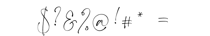 Dream  Catcher Font OTHER CHARS