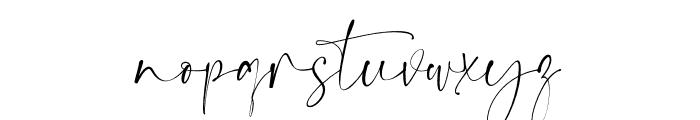 Dream  Catcher Font LOWERCASE