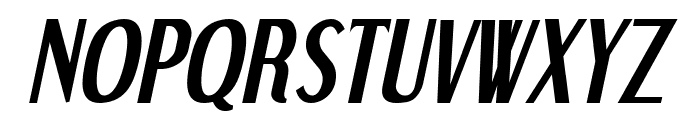 Dream Orphans Bold Italic Font UPPERCASE