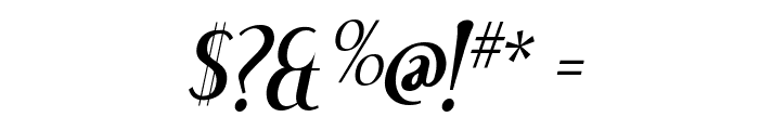 Dream Orphans Italic Font OTHER CHARS