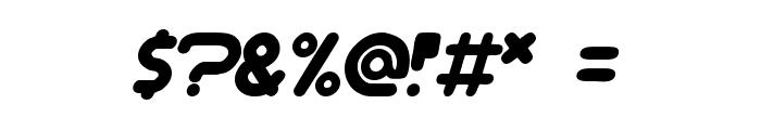 Dream machine Font OTHER CHARS