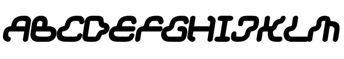 Dream machine Font UPPERCASE