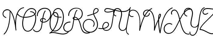DreamCatchersDemo Font UPPERCASE