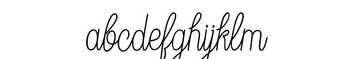 DreamCatchersDemo Font LOWERCASE